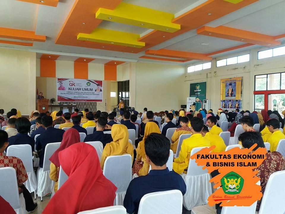 (4) Dokumentasi - Kuliah Umum IAIS Sambas Bersama OJK Kalbar
