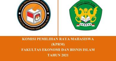 Selamat Atas Terpilihnya Ketua dan Wakil Ketua BEM FEBI yang Baru