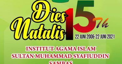 Fakultas Ekonomi dan Bisnis Islam (FEBI) Memperoleh Juara II Lomba Masak Dalam Rangka Dies Natalis Ke 15th IAIS Sambas